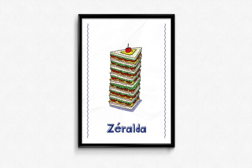 Club-sandwich illustration zeralda