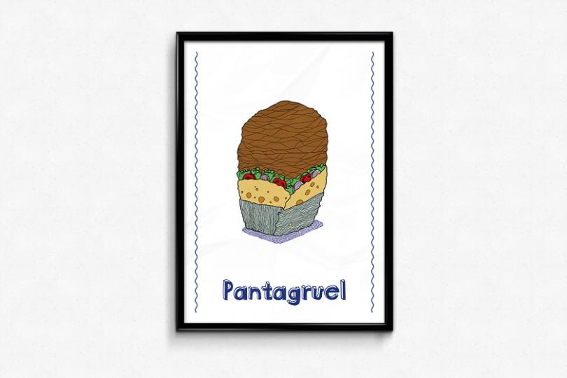 kebab geant illustration pantagruel