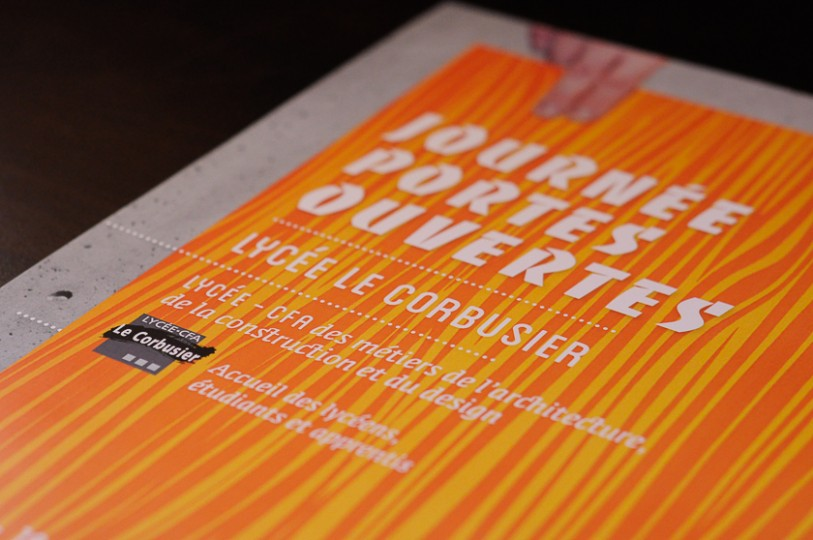 Affiches cartons d'invitations journées portes ouvertes