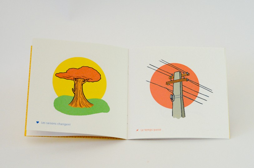 Double page livre edition illustration