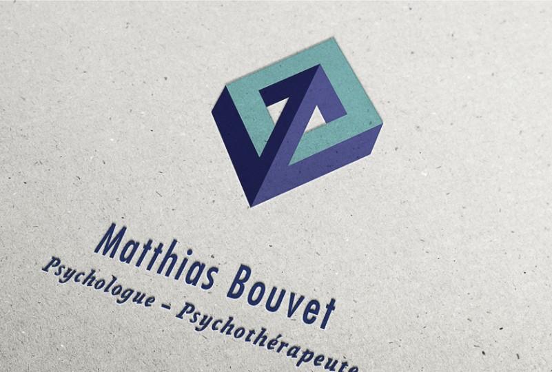 Clin d'œil aux objets impossibles de M.C. Escher. Ce logo évoque l'exploration de l'infini.
